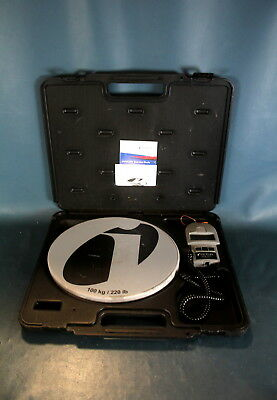 INFICON WEY TEK / 713-500-G1/Refridgerant Charging Scale & Carry Case