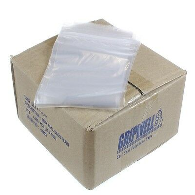 Grip Seal bags Resealable Clear Quality ZIP LOCK SIZES IN INCHES Quick Dispatch!