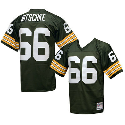 check out 65f5f d0ef7 GREEN BAY PACKERS Ray Nitschke Mitchell & Ness THROWBACK Jersey XL