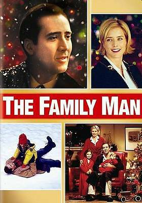 The Family Man (DVD, 2011, PG-13, Widescreen) Tea Leoni, Nicholas Cage ~ NEW