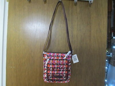 NWT Vera Bradley Iconic RFID Mini Hipster Bag in Houndstooth Tweed . 1a1ed944b6eef