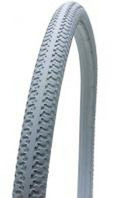 Krypton 24 x 1-3/8 Solid Wheelchair Tyre available in Grey, Red, Blue & Yellow