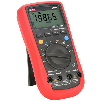 UNI-T UT61E High Precision Digital Multimeter NCV Voltage Resistance Meter AC/DC