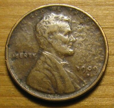1909 S San Francisco Lincoln Wheat Cent From Penny Collection