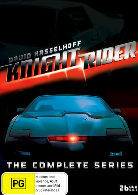 Knight Rider: The Complete Series = NEW DVD R4