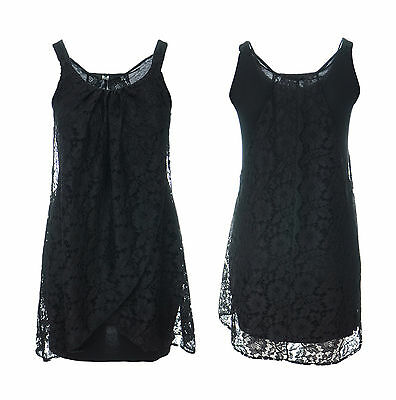 Womens New Black Crush Velvet Gothic Gypsy Top Size 16-26 Flared Cuff *LICK*