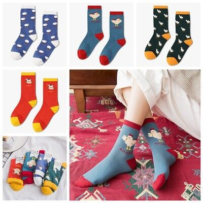 Animal Unisex Women Funny Art Painting Stocking Soft Hosiery Cotton Socks