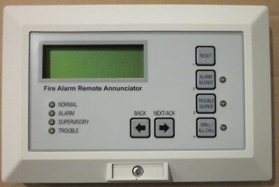 Edwards Est 2-Lsra-C Annunciator For Est2 Fire Alarm Panel
