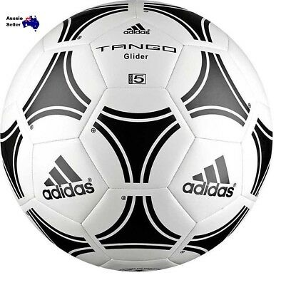 New Adidas Adult Tango Glider Training Soccer ball  size3/4/5 White/Black s12241