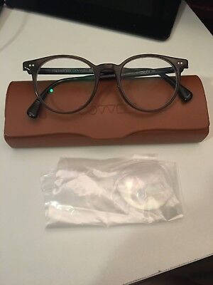 ea4ce233aa Authentic OLIVER PEOPLES Eyeglasses Delray DARK MILITARY OV5318U 1494 47-19 -145