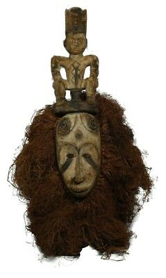 African Wood Mask Nigeria African Art