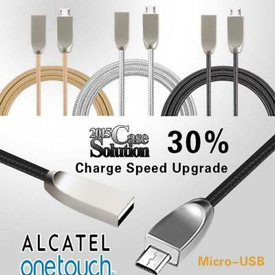 1M Micro USB Data Sync Fast Charging Charger Cable For Various Alcatel Phones