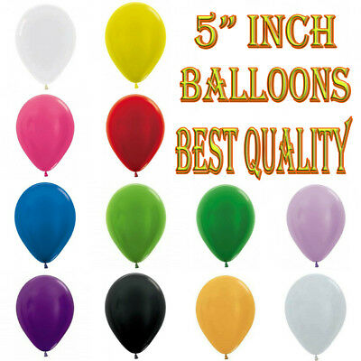 "5"" inch Small Round Latex Best Balloons Quality Standard 200 ballon Colour balon"