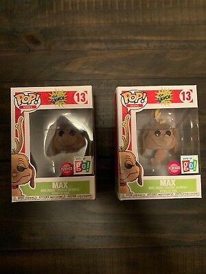 Funko POP Books Dr. Seuss The Grinch Max - Exclusive Flocked GO! Version #13