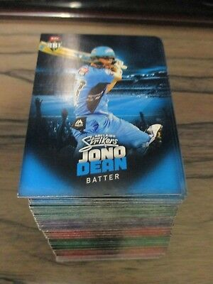 2017 2018 Tap N Play Bbl Wbbl, Common Set Of 160 Cards