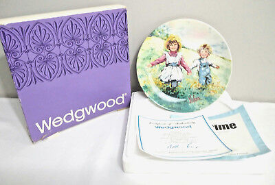 "Wedgwood of Etruria & Barlaston Mary Vickers ""Play Time"" #769GC 1982 Ltd Ed"
