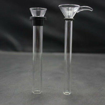 Hot Selling Various length Glass Downstem Slider Set With Gaskets with O-Rings.