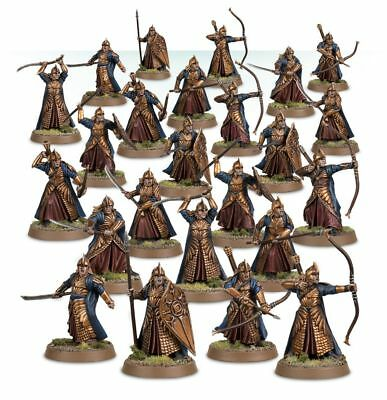 Warhammer Galadhrim Warriors The Lord of the Rings plastic new