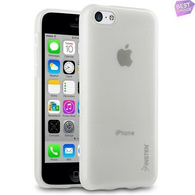 Shockproof TPU Rubber Case Cover For Apple iPhone 5C Frost Clear