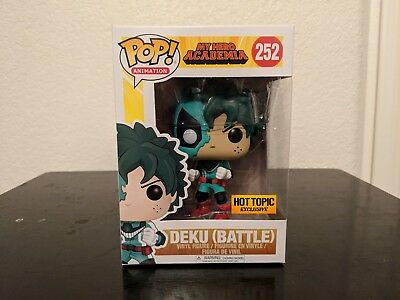*IN HAND* Funko Pop My Hero Academia Battle Deku Hot Topic Exclusive