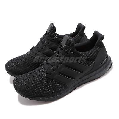 online store 6e882 b40c8 adidas UltraBOOST 4.0 Triple Black All Blackout Mens Running Shoes BOOST  F36641