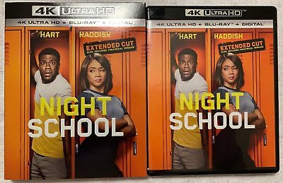 Night School Extended Cut 4K Ultra Hd Blu Ray 2 Disc Set + Slipcover Sleeve Buy