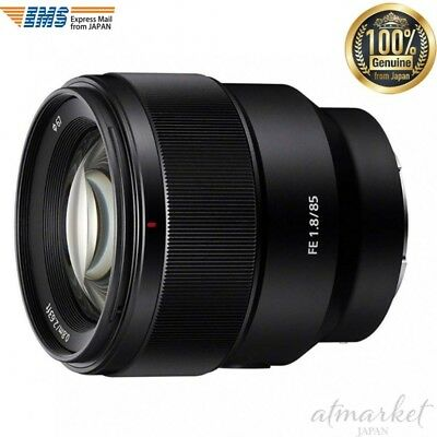Sony digital single lens camera α SEL85F18(FE 85mm F1.8) E mount from JAPAN NEW