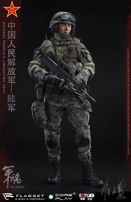 FLAGSET 73019 The Chinese People's Liberation Army Gunner Action Figure New