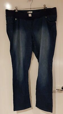 Catriona Rowtree Maternity Target Dark Denim Size 18 Pants 💙