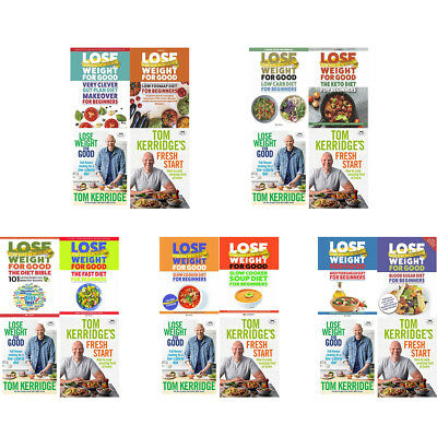 Lose Weight for Good Collection Books Tom Kerridge's Fresh Start Very Clever Gut