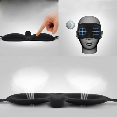 Sleeping Aid 3D Mask Eye Shade Cover Silk Blinder Winker Patches Travel Kits