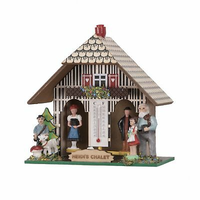 German Black Forest weather house Heidi EN WH 51 NEW