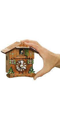 Cuckoo Clock Little black forest house HH 65/003 NEW