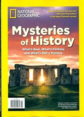 National Geographic Special Edition Magazine 2018 ~ Mysteries Of History ~ New ~