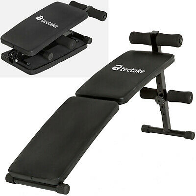 Foldable Sit Up Bench Abdominal Ab Crunch Exerciser Home Gym Training Machine