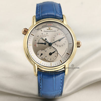 Jaeger-LeCoultre Geographic 169.1.92 18k Yellow Gold