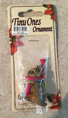 Brussels Griffon Red Ornament Mini Dog Tiny Ones by Conversation Concepts New
