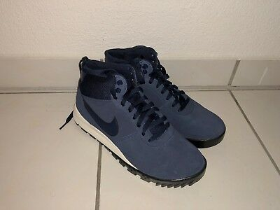 factory authentic sale uk arrives NIKE HOODLAND SUEDE Stiefel Boots Winterschuhe Blau Gr. 42 ...