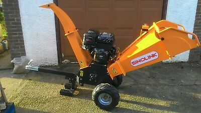 GS120  wood chipper Briggs and Stratton electric start 420cc