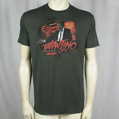 Authentic Reservoir Dogs Bang Bang Tarantino Logo Gun T-Shirt M