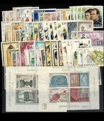 España Spain Año Completo Year Complete 1975 MNH