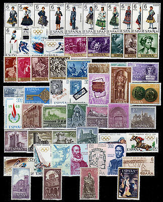 España Spain Año Completo Year Complete 1968 MNH