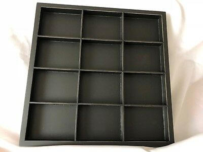 Close To My Heart Black WOODEN PHOTO DISPLAY TRAY includes Hangers NIP