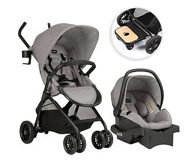 Evenflo Sibby Travel System, Mineral Gray