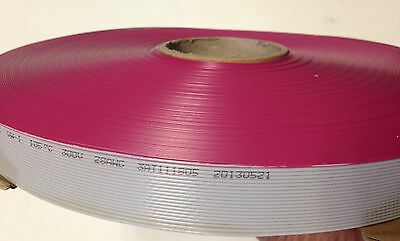 Cable Plano 16 Pins 16 Wires Idc Ribbon 2651 Roll 76.2m Largo 1.27mm Distancia