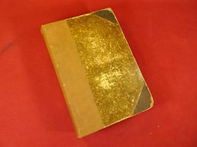 Rare Antique Victorian 1893 Therapeutic Gazette Bound Medical Journal Book