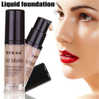 Full Coverage Liquid Concealer  Face Brightening HD High Cover Foundation Cream
