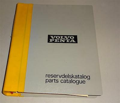 Parts Catalogue / Reservdelsktalog Volvo Penta Bottes D 100 A - Td 120 C 12/19