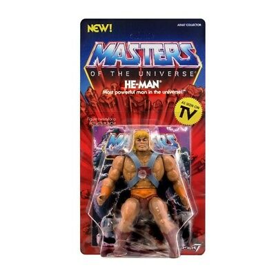 He-man Masters of the Universe Super 7 vintage toys MotU
