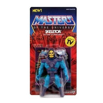 He-man Masters of the Universe Skeletor Super 7 vintage toys MotU
